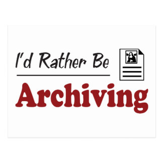 Rather Be Archiving Post Cards