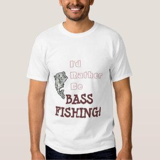 Rather Be Bass Fishing! T-shirt