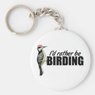 Rather Be Birding Keychains