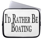 Rather Be Boating Laptop Computer Sleeve