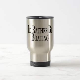 Rather Be Boating 15 Oz Stainless Steel Travel Mug