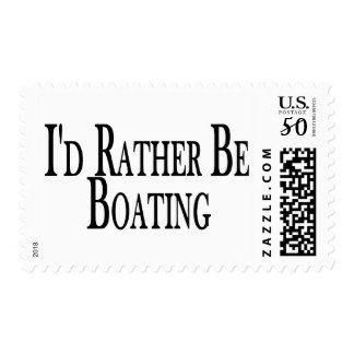 Rather Be Boating Postage