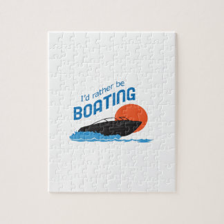 RATHER BE BOATING JIGSAW PUZZLE