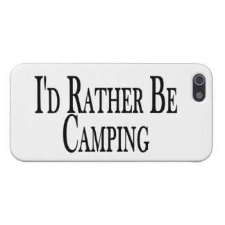 Rather Be Camping Cover For iPhone SE/5/5s