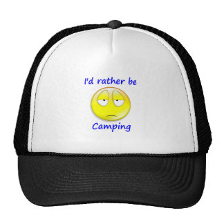 Rather Be Camping Mesh Hat