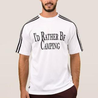 Rather Be Camping Tee Shirt