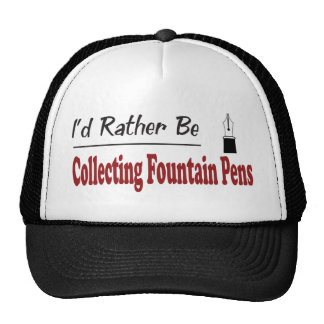 Rather Be Collecting Fountain Pens Trucker Hat