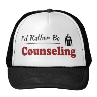 Rather Be Counseling Mesh Hats