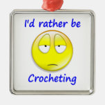 Rather Be Crocheting Christmas Tree Ornament