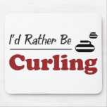 Rather Be Curling Mouse Mats
