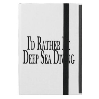Rather Be Deep Sea Diving iPad Mini Cover