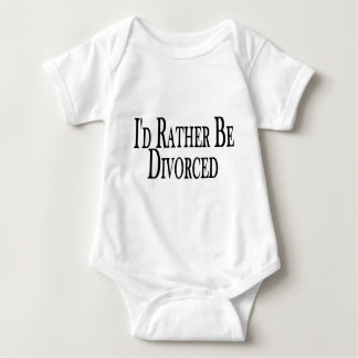 Rather Be Divorced Baby Bodysuit