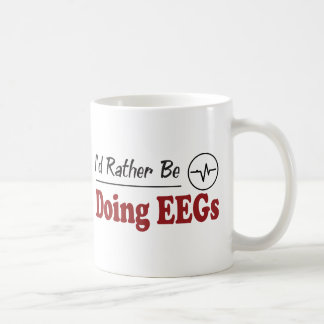 Rather Be Doing EEGs Coffee Mug