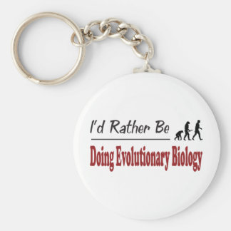 Rather Be Doing Evolutionary Biology Key Chains