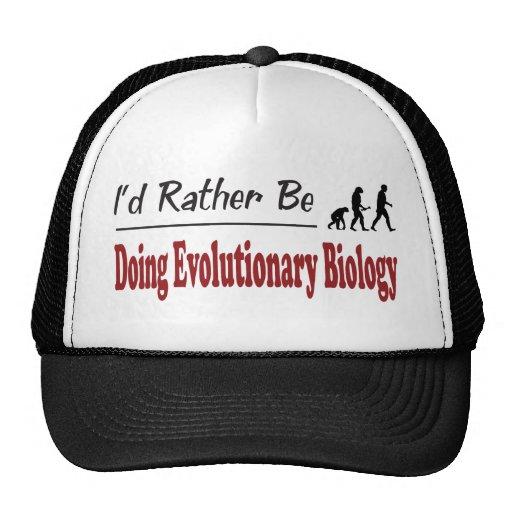 Rather Be Doing Evolutionary Biology Trucker Hat