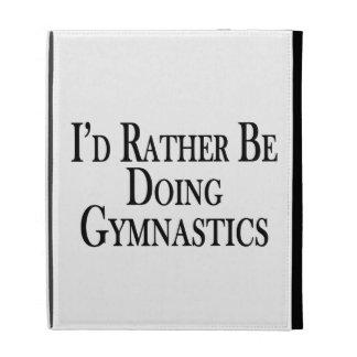 Rather Be Doing Gymnastics iPad Cases