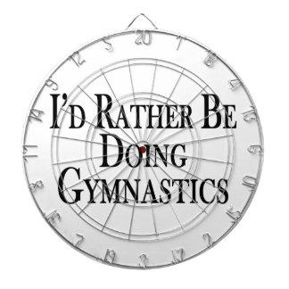 Rather Be Doing Gymnastics Dartboard