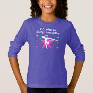 RATHER BE DOING GYMNASTICS DESIGN T-Shirt