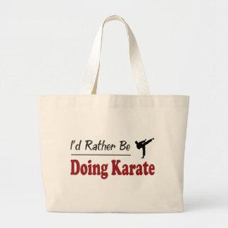 Rather Be Doing Karate Bag