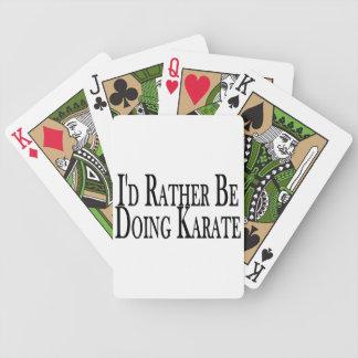 Rather Be Doing Karate Card Decks