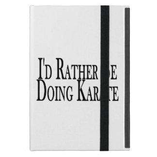 Rather Be Doing Karate Cover For iPad Mini