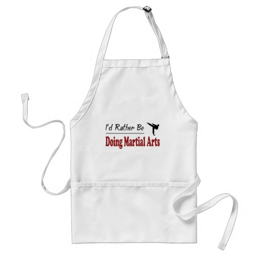 Rather Be Doing Martial Arts Apron