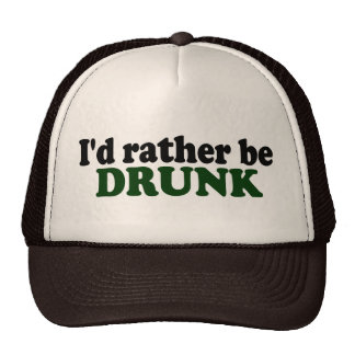 Rather Be Drunk Mesh Hat