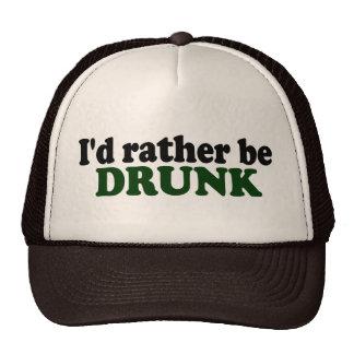 Rather Be Drunk Trucker Hat