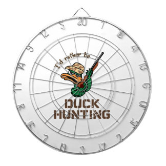 RATHER BE DUCK HUNTING DART BOARDS