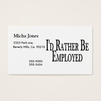 Business cards for unemployed arts arts poor business cards templates zazzle colourmoves