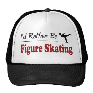 Rather Be Figure Skating Mesh Hats
