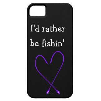 Rather be Fishin Phone Case