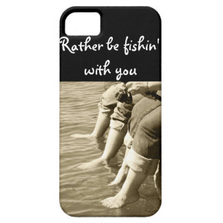 Rather be fishin with you iPhone SE/5/5s case