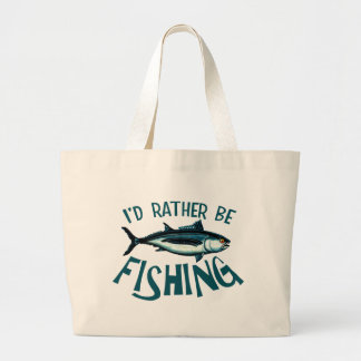 Rather Be Fishing Bag
