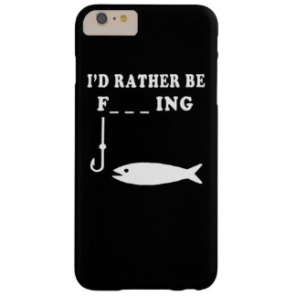 RATHER BE FISHING BARELY THERE iPhone 6 PLUS CASE