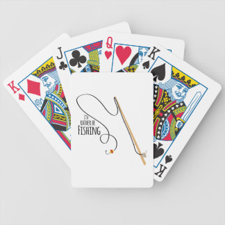 Rather Be Fishing Bicycle Playing Cards