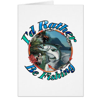 Rather be fishing cards