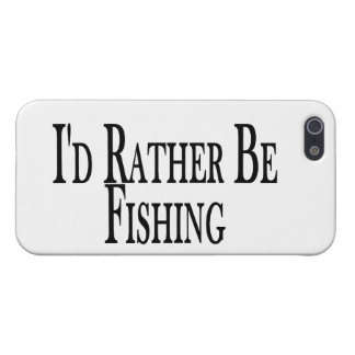 Rather Be Fishing Case For iPhone SE/5/5s