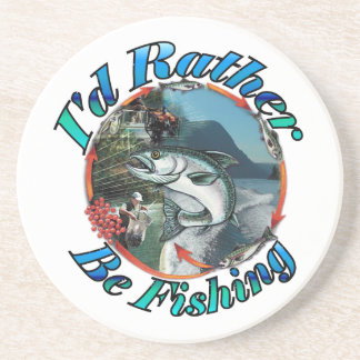 Rather be fishing coasters