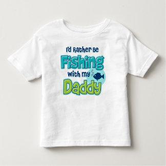 Rather Be Fishing Dad Toddler T-shirt