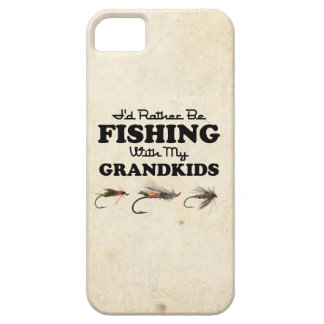 Rather Be Fishing Grandkids iPhone 5 Covers