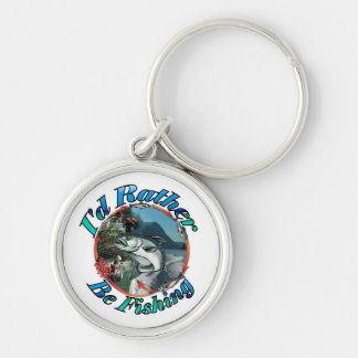 Rather be fishing keychains