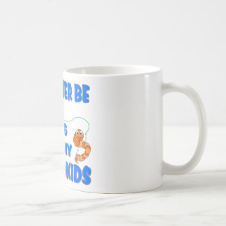Rather Be Fishing With Grandkids Classic White Coffee Mug