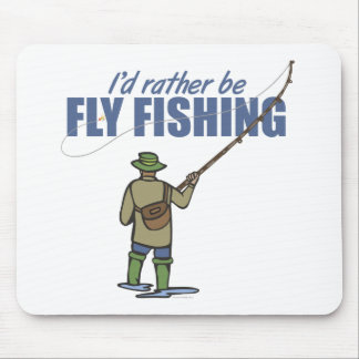 Rather Be Fly Fishing Mouse Pad