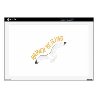 """Rather Be Flying 17"""" Laptop Decal"""