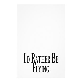 Rather Be Flying Stationery