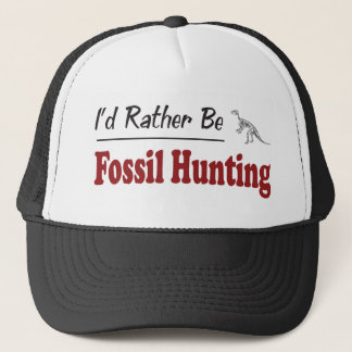 Rather Be Fossil Hunting Trucker Hat
