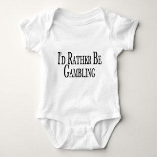 Rather Be Gambling Baby Bodysuit