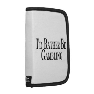 Rather Be Gambling Folio Planners