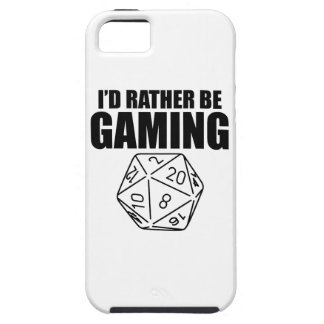 Rather Be Gaming (D20) iPhone SE/5/5s Case